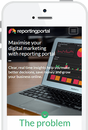 Rerporting Portal Marketing Dashboard